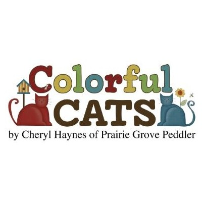 Colorful Cats Cheryl Haynes