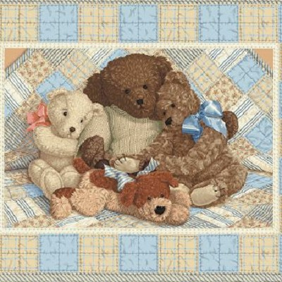 10) Cuddle Bears By Patty Reed